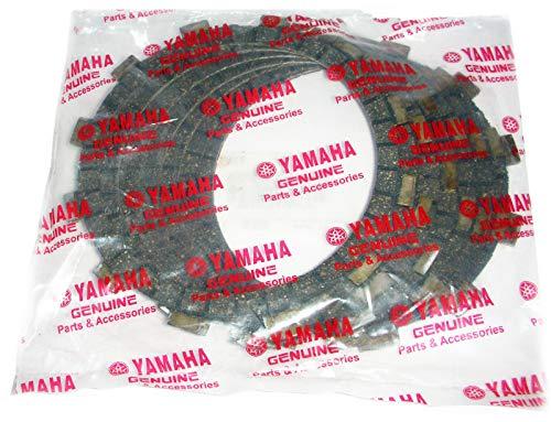 (YAMAHA RD350 CLUTCH FRICTION PLATE SET OF 7 YAMAHA RD 350 YPVS RD 250 RD 400 RZ/FZR RD 350 CAFE RACER BW350 RZ350 1973-75 US SPEC RD 350YPVS 5Y1-16331-01-00 360-16321-00-00)