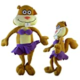 Nickelodeon Spongebob Sandy Squirrel Plush Doll - Spongebob Squarepants Sandy Cheeks Squirrel Stuffed Animal (13in) Plush Toy