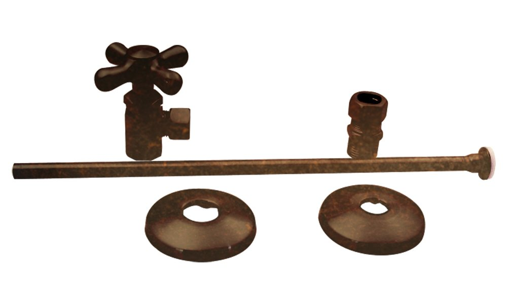 Westbrass D1812T-12V Traditional Style Toilet Kit, Victorian Bronze by Westbrass