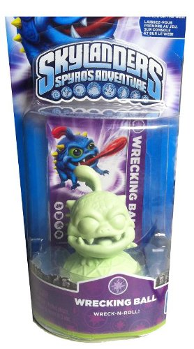 Skylanders Spyro's Adventure: Glow in the Dark Wrecking Ball - Extremely Rare and Collectible Variant by Activision