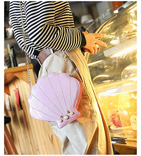Cute Latest Shell Novelty pink Shape Pineapple Mini Bag Women for Shoulder qH4H5x