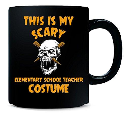 This Is My Scary Elementary School Teacher Costume Halloween - Mug -