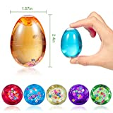 ThinkMax 12 PCs Slime Eggs Easter Silly Fluffy Egg