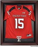 Texas Tech Red Raiders Mahogany Framed Logo Jersey Display Case