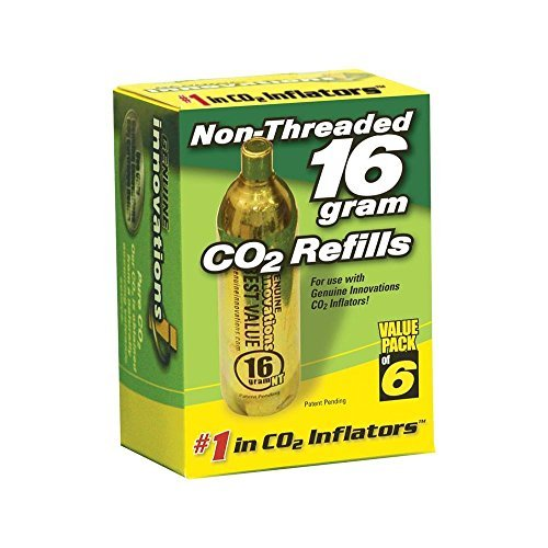INNOVATIONS NON-THREADED STYLE CARTRIDGES 16G 6/PK 85-6189 by MOTO HEAVEN - 16g Non Threaded Cartridges