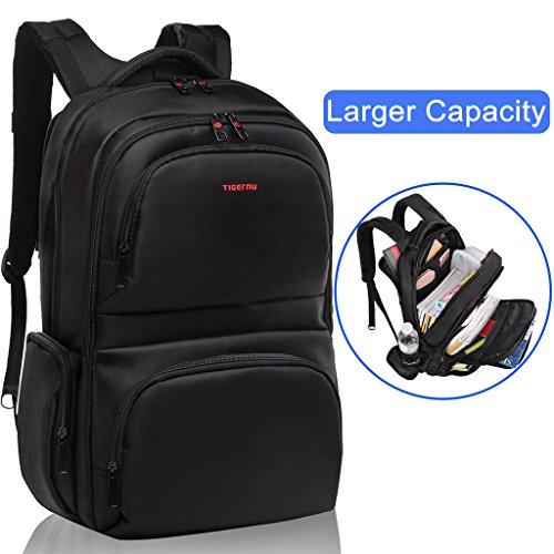 Kuprine Slim Business Lightweight Laptop Backpack for Men Women, Anti Theft Water Resistant Travel Bag School College Backpack Up to 15.6 Inch Laptops