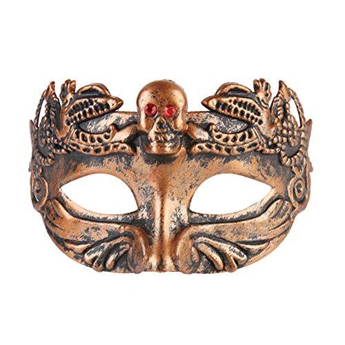 Rehoty Mens Masks Greek Roman Venetian Masquerade Mask