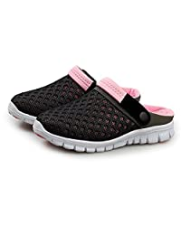 SAGUARO Men Women Non-Slip Breathable Mesh Net Slippers Beach Sandals Sport Casual Shoes Summer Sneakers