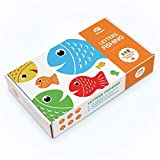 Coogam Wooden Magnetic Fishing Game, Fine Motor