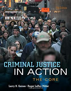 criminal justice in action 10th edition used