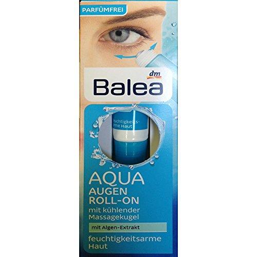 Balea AQUA Augen Roll-On mit Algen-Extrakt (15ml Tube)