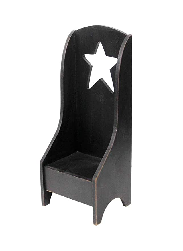 Stupendous Obi Primitive Mini Wooden Chairs Set Of 2 Candle Holder Rag Doll Furniture Display Country Home Decoration Mini Shelf Blackwhite Inzonedesignstudio Interior Chair Design Inzonedesignstudiocom