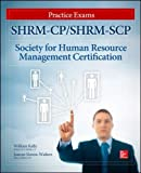 img - for SHRM-CP/SHRM-SCP Certification Practice Exams (All in One) book / textbook / text book