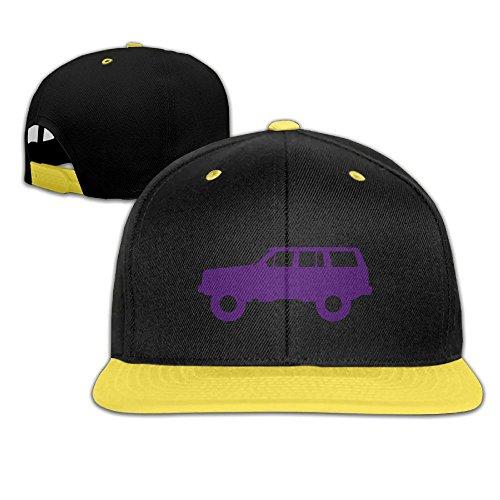 Price comparison product image Boy&Girls Red Hip Hop Caps Trucker Baseball Hats Purple Jeep