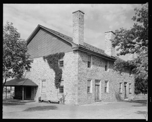 HistoricalFindings Photo: Quaker Meeting House,Friends',Winchester,Virginia,VA,Architecture,South,c1930 1