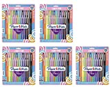 Flair Felt Tip Pens, Medium Point (0.7mm), Limited Edition Candy Pop Pack, 24 Count