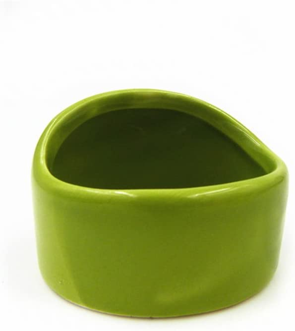 Fitlyiee Ceramic Chew-Resistant Hamster Bowl Dish for Hamsters Hedgehog Guinea Pig and More Small Animals