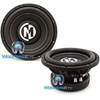 Pair of Memphis BR10S4 10 400 Watts RMS Single 4-Ohm BR Series Subwoofers