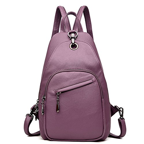 functional Women's Dual Bag Simple Bag Chest Shoulder Travel Handbags Lady Bag B Shoulder Wild Multi use zwAnHgvq