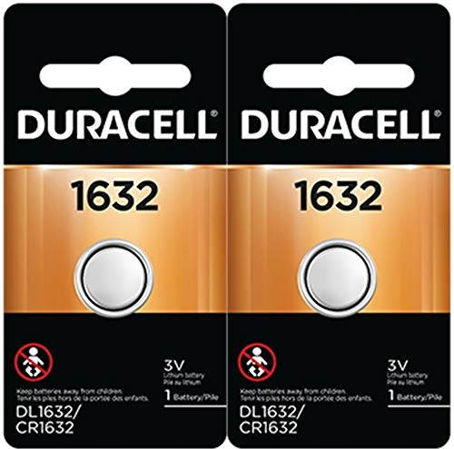 2 x 2 Duracell CR1632 1632 car remote batteries ()