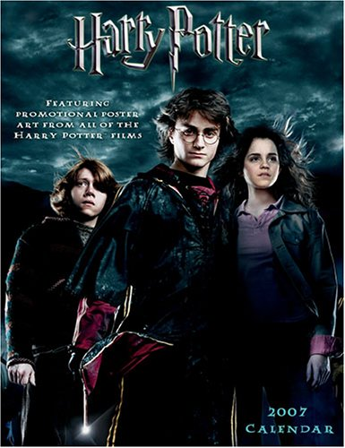 Harry Potter 2007 Wall Calendar: Featuring Promotional Poster Art from All of the Harry Potter Films ()