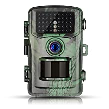 Trail Game Camera, Toguard 12MP 1080P Wildlife Scouting Hunting Camera with 75ft/22M Infrared Night Vision, Motion Detector, IP56 Waterproof