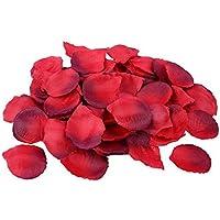 Schramm® 500 Stück Rosenblätter Rosenblüten Bordeaux Rosen Blätter Blüten Kunstblumen Seidenblumen 500er Pack