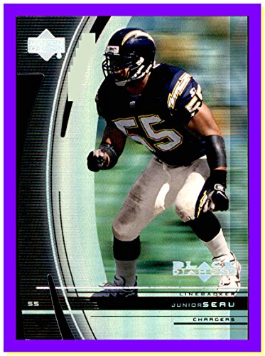 1999 Upper Deck Black Diamond Diamond Cut #90 Junior Seau RIP HOF SAN DIEGO CHARGERS ()