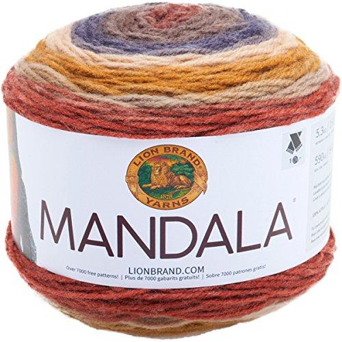 Lion Brand Yarn 525-214 Mandala Yarn, Centaur