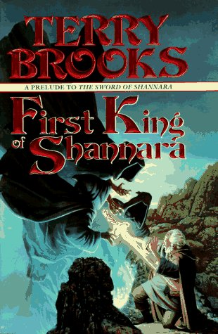 book cover of First King of Shannara