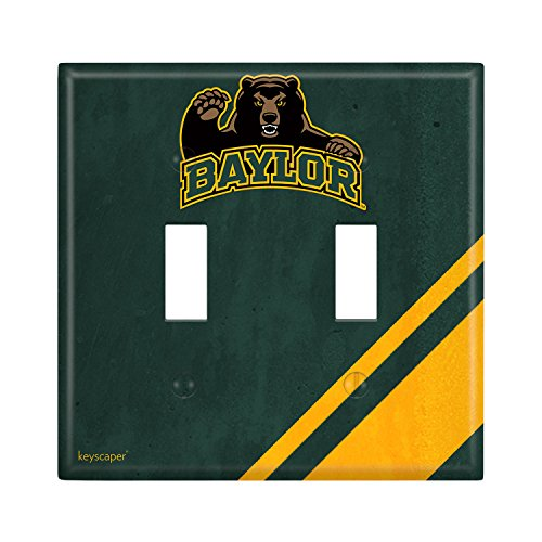 Baylor Bears Double Toggle Light Switch Cover NCAA