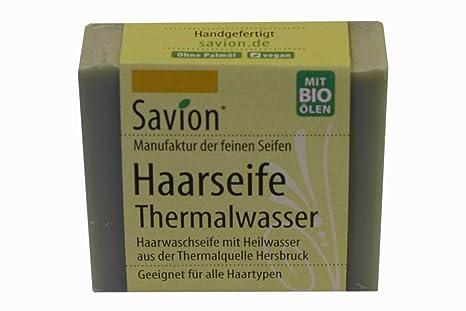 Savion Thermalwasser - Jabón de agua termal para cabello, 85 g ...