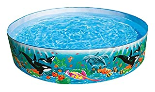 "Intex Round 15"" Deep Color Reef Snapset Pool (B00004YTKT) 