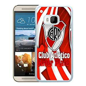 Popular HTC ONE M9 Case, Beautiful Designed Case With River Plate 1 White HTC ONE M9 Cover