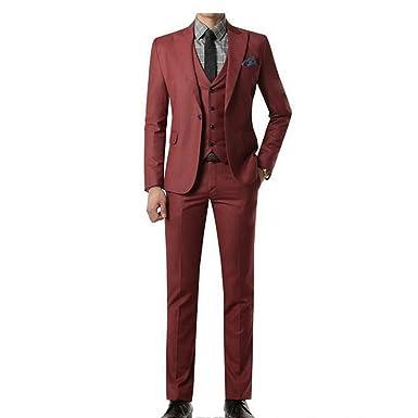 Amazon.com: ZXCVBNM ZXC017 - Chaleco y pantalón para hombre ...