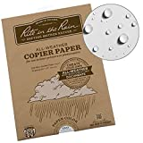 Rite in the Rain Weatherproof Laser Printer Paper, 8 1/2'' x 11'', 20# Gray Colored Printer Paper, 50 Sheet Pack (No. 8511GY-50)