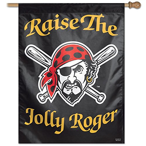 WinCraft Pittsburgh Pirates MLB Jolly Roger 27 x 37 Inch Flag (Wincraft Pittsburgh Pirates Flag)