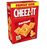Cheez-It Baked Snack Crackers, Original, 21-Ounce Boxes (Pack of 3), 2 Pack