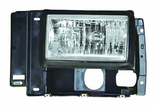 IPCW CWS-543 Crystal Diamond Cut Headlight - Pair by IPCW