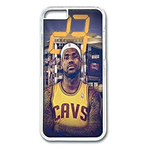 Iphone 6 Case,Hard PC Iphone 6 Protective Case for Ultimate Protect iphone 6 with LeBron James by mcsharks