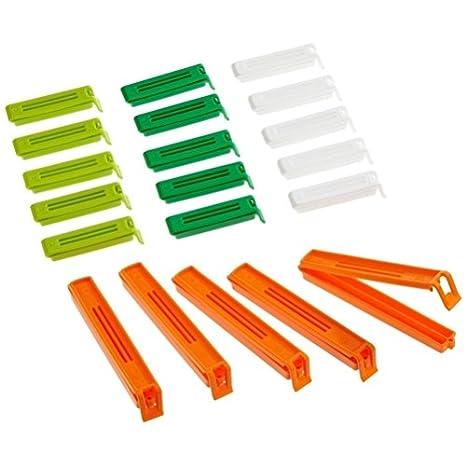 paquete de 20 pinzas mixtas para cerrar bolsas by DELIAWINTERFEL