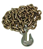 Porto-Power B97518 8' Chain with Grab Hook, 4'' Height, 3'' Width, 4'' Length