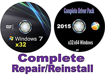 Recovery disc compatible w/ WINDOWS 7 32/64 Bit-Home Premium w/Network Drivers. Get online immediately. (Starter-Home Basic-Home Premium-Pro-Ultimate) Re-install Factory Fresh! Full Support Included!