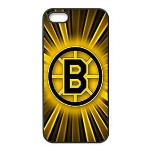 Custom Boston Bruins NHL Back Cover Case for iphone 5,5S JN5S-1152