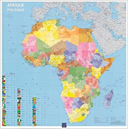 French Africa Map.Africa Political Map French Edition 9782758503682 Amazon Com Books