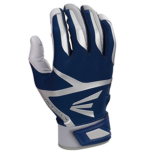 イーストンz7 VRS Hyperskinユースバッティング手袋 B01IRVXSCU Large|グレー/ネイビー グレー/ネイビー Large