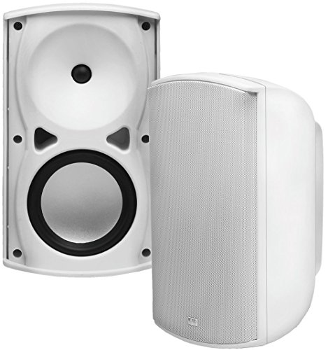 AP670 6.5-Inch 120W Architectural 2-Way Indoor/Outdoor Weather-Resistant Patio Speakers – OSD Audio – (Pair, White)