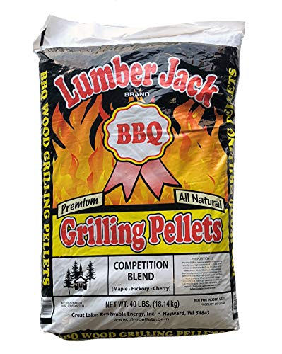 Lumber Jack Competition Blend Maple-Hickory-Cherry BBQ Grilling Pellets - 40 lbs. by Lumber Jack