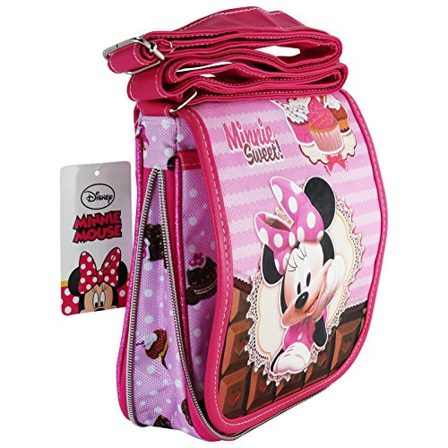 Disney Minnie Mouse Sweet Cake Bolso Infantil Correa Vertical Mini