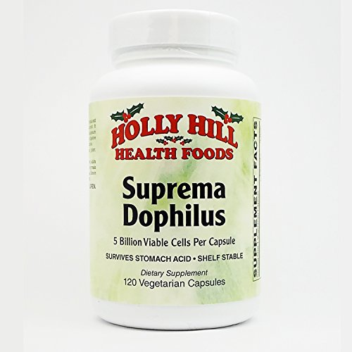 Holly Hill Health Foods, Suprema Dophilus, 120 Vegetarian Capsules Review